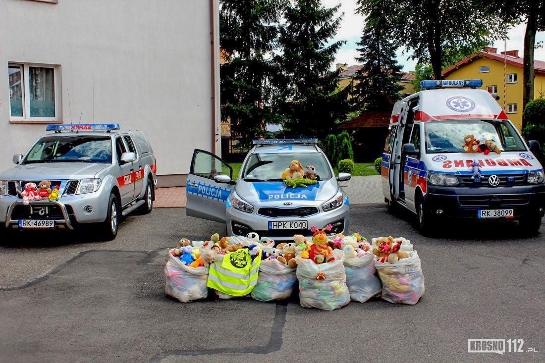 Pluszaki Pomagają Dzieciom W Wypadkach Akcja Misie Ratownisie