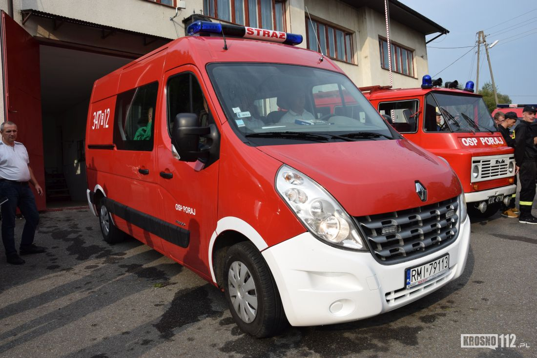 Wspaniały Strażacy OSP Poraj z Renault Master, a Żuk będzie zabytkiem HP28